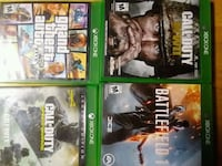 four Xbox One game cases Georgetown, 40324