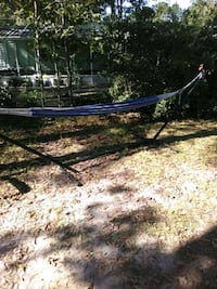hammock 10 ft long metal frame or hang to a tree Summerville, 29483