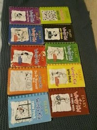 Books DIARY of a wimpy kid