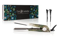 ProCabello Peacock Flat Iron Soft Touch Hair Straightener Set Toronto