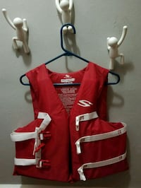 red and white life vest Tampa, 33609