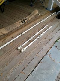 curtain rods with fasteners
