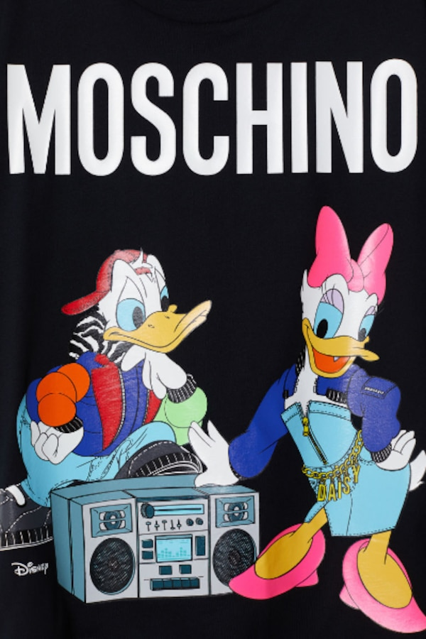 MOSCHINO [TV] H&M BLACK DISNEY T-SHIRT NWT SIZE XS SOLD OUT 2