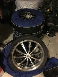 "18"" DIP Rims with low profile rims. 235/40 R18 Caledon, L7E 5S5"