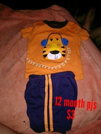 yellow and blue pjs Abilene, 79605