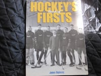 Hockey's Book of Firsts by James Duplacey  Winnipeg