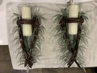 Beautiful Decorative Sconces / Wall Candle Holders