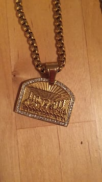 Gold silver chain pendant and bracelet! 789 km
