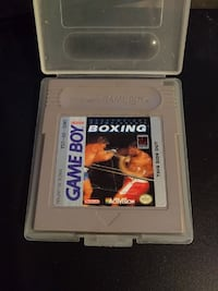 Heavyweight championship Boxing Gameboy