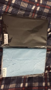 Two black and blue leather tablet cases Oakville, L6M 0B6