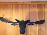 Large Moose Head Faux Taxidermy Sand Lake, 12153