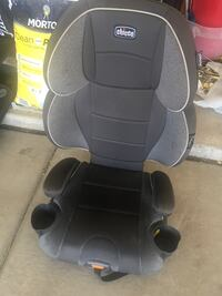 Booster seat-back detaches Midland