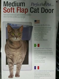 Cat door soft flap medium