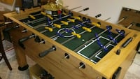 brown and blue foosball table Columbus, 43231
