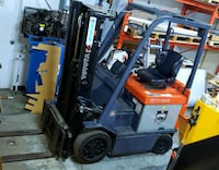 Electric Toyota forklift 7FBCU20 - 5000lb Mississauga, L4W 1C8