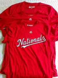 MLB authentic Nationals Evolution Tees Manassas, 20109