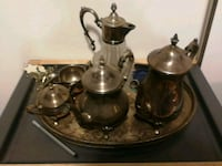 stainless steel turkish tea set Edmonton, T5W 3Z9