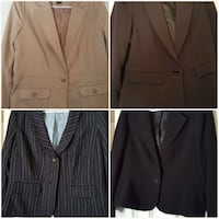 four assorted-color suit jackets collage Colorado Springs, 80921