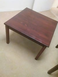 rectangular brown wooden coffee table Toronto, M1K 4S6