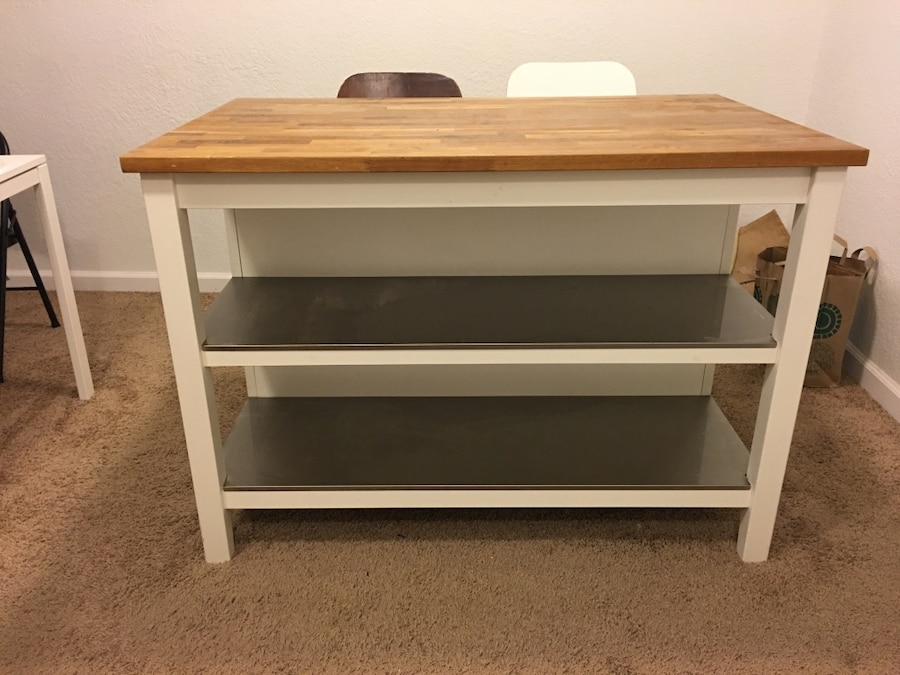 used ikea stenstorp kitchen island for sale in poway letgo rh us letgo com