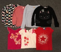 Girl's size 4T tops Springfield, 22153