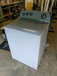 white top-load clothes washer Mountlake Terrace, 98043