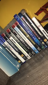 assorted Sony PS4 game cases Barrie, L4N 5X7