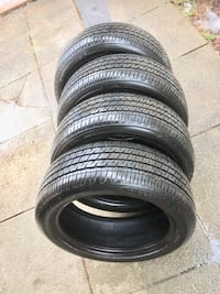 205/50/ 16 tires like new all seasons set  London, N6E