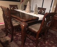 Beautiful tall top table with 6 chairs dining set Arroyo Grande, 93420
