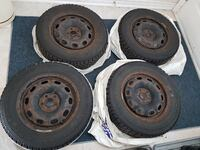 FS: 4x Good Year Nordic p195/65r15 Winter Tires with Steelies Markham