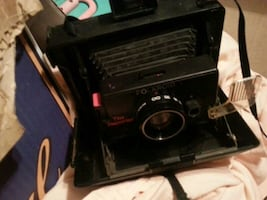 One of the first Polaroid camera with instructions