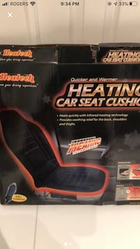 Car heating car seat cushion