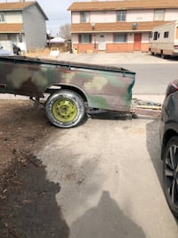 Bumper pull trailer  Clifton, 81520