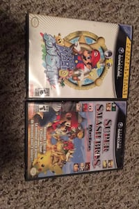Super Mario smash bros and super Mario sunshine