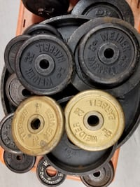 Cast iron weight plates Olympic and Standard 50 ce Atlanta