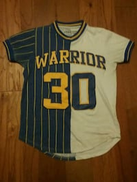 Warriors shirt Montgomery Village, 20886