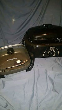 Electric roaster and electric frying pan Calgary, T1Y 3Z4