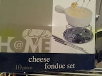 10 piece cheese fondue set Brampton, L6S 2B2