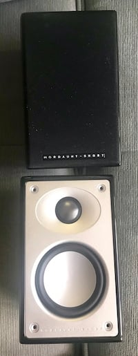 Mordaint short set of 4 same speakers / Alumni / 4-8ohms excellent for small spaces or handing in walls / no damage have been in storage working 100%  Toronto, M5V 2W7