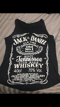 Jack Daniels woman's tank top Langley, V3A