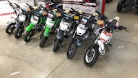 110cc dirt bikes on for $900 Vaughan, L4L 1S2
