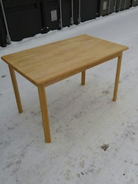 "Oakville IKEA DINING TABLE 47x29x29"" Solid Wood"