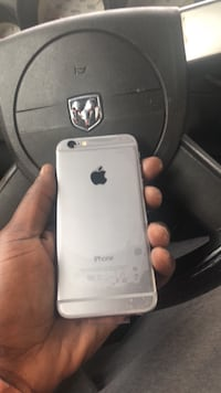 space gray iPhone 6 with box 288 mi