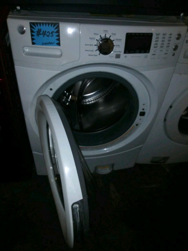 GE front load washer like new