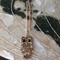 Lucky Owl Necklace  Welland, L3C