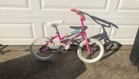 toddler's pink and white bicycle Bowie, 20716