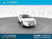 2011 Ford Edge suv Limited Sport Utility 4D White