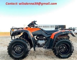 Runs like 2000 Honda TRX350FM Rancher