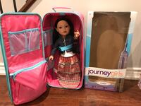 two pink and blue dressed dolls in box Vaughan, L4H 0N4