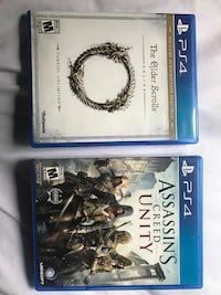 two Sony PS4 game cases Granite Falls, 98252